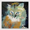 halpa Abstraktit maalaukset-Hang-Painted öljymaalaus Maalattu - Abstrakti Moderni Sisällytä Inner Frame