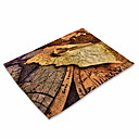cheap Placemats-Contemporary Nonwoven Square Placemat Patterned Table Decorations 1 pcs