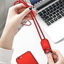 Недорогие HDMI кабели-Type-C Кабель <1m / 3ft Плетение TPE / ABS + PC Адаптер USB-кабеля Назначение Samsung / Huawei / Xiaomi