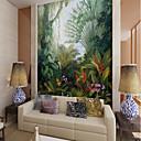 levne Tapety-tapeta / Nástěnná malba Plátno Wall Krycí - lepidlo požadováno secesní motiv / Vzor / 3D