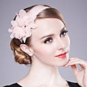 povoljno Party pokrivala za glavu-Žene Jednobojni Zabava Poliester-Ribički šešir Blushing Pink