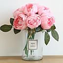 זול פרחים מלאכותיים-פרחים מלאכותיים 1 ענף קלאסי מסוגנן חתונה ורדים אדמוניות פרחים לשולחן