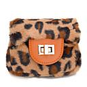 お買い得  キッズバッグ-女性用 バッグ ベルベット キッズバッグ 動物 ピンク / Brown / カーキ色