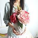 halpa Tekokukat-Keinotekoinen Flowers 1 haara Klassinen minimalistisesta Hääkukat Hortensiat Pioonit Eternal Flowers Pöytäkukka