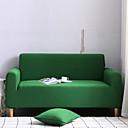Недорогие Чехлы и накидки на мягкую мебель-Накидка на диван Однотонный Крашенный в пряже Полиэстер Чехол с функцией перевода в режим сна