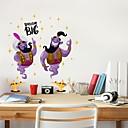 お買い得  ウォールステッカー-飾りウォールステッカー - プレーン・ウォールステッカー 抽象画 ベッドルーム / 研究室 / オフィス