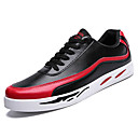 cheap Men's Sneakers-Men's Comfort Shoes PU(Polyurethane) Spring Sneakers Color Block White / Black / Red