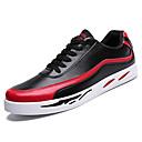 hesapli Erkek Sneakerları-Erkek Ayakkabı PU Bahar Spor Ayakkabısı Dış mekan için Beyaz / Siyah / Kırmzı / Zıt Renkli