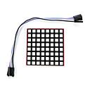 billige Raspberry Pi-hindbær pi førte fuld farve dot matrix 8 * 8 dot matrix matrix modul