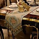 رخيصةأون غطاء-معاصر محبوكة مربع قماش طاولة منقوشة الجدول ديكورات