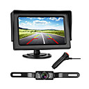 cheap Head Up Display-772 4 inch TFT-LCD 480TVL 480 TV-Lines 1/4 inch high definition color CMOS Wired 170 Degree 1 pcs 135 ° 4.3 inch Rear View Camera / Car Reversing Monitor LED indicator / Plug and play / Night Vision