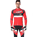 cheap Cycling Jersey & Shorts / Pants Sets-Men's Long Sleeve Cycling Jersey with Tights Golden+Silver Black / Yellow Sky Blue+White Bike Clothing Suit Breathable Sweat-wicking Sports Fashion Mountain Bike MTB Road Bike Cycling Clothing Apparel