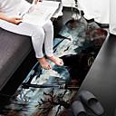 cheap Mats & Rugs-1pc Modern Bath Mats Coral Velve Novelty / Vintage 5mm Creative / Non-Slip / New Design