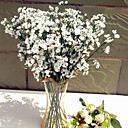 hesapli Yapay Çiçekler-Yapay Çiçekler 10 şube Klasik Avrupa minimalist tarzı Çöven Otu Masaüstü Çiçeği
