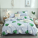 cheap Floral Duvet Covers-Duvet Cover Sets Floral / Contemporary Polyster Reactive Print / Printed / Flocking 4 PieceBedding Sets