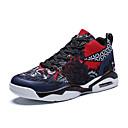 hesapli Erkek Sneakerları-Erkek Ayakkabı Kanvas İlkbahar yaz Günlük Spor Ayakkabısı Yürüyüş Dış mekan için Kırmzı / Mavi