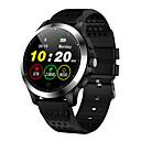 olcso Televízió dobozok-Kimlink W8 Férfi nő Intelligens Watch Android iOS Bluetooth Vízálló Érintőképernyő Szívritmus monitorizálás Vérnyomásmérés Sportok EKG + PPG Dugók & Töltők Lépésszámláló Hívás emlékeztető Alvás