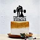 halpa Kakkukoristeet-Kakkukoristeet Klassinen teema / Luova / Wedding Yksilöllinen / Romanttinen Akryyli Häät / Syntymäpäivä kanssa Yksivärinen 1 pcs OPP