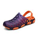 זול נעלי ספורט לגברים-בגדי ריקוד גברים נעלי נוחות EVA קיץ יום יומי סוגי כפכפים נעלי מים / הליכה נושם כתום / אפור / ירוק