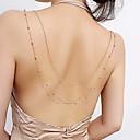 ieftine Bijuterii pentru corp-Corp lanț / burtă lanț Pentru femei Auriu / Argintiu Bijuterii de corp Pentru Nuntă / Petrecere / Cadou / Concediu / Festival