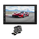 povoljno DVD playeri za auto-swm 9218s + 4led kamera 7 inčni 2 din android 8.1 automobil multimedijski uređaj / automobil mp5 player / auto mp4 player dodirni zaslon / gps / mp3 za univerzalnu podršku rca mpeg / wmv / rmvb mp3
