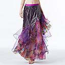 رخيصةأون ملابس رقص شرقي-رقص شرقي بنطلونات وفساتين نسائي أداء تول مثل الموج ارتفاع منخفض تنانير