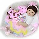 halpa Reborn Dolls-FeelWind Reborn Dolls Tyttövauvat 22 inch Koko kehon silikoni - Lapset / nuoret Lasten Unisex Lelut Lahja