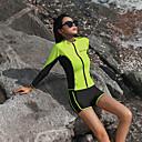 halpa Märkäpuvut, sukelluspuvut ja suoja-asut-Naisten Rashguard-uimapuku Uima-asut Pidä lämpimänä Pitkähihainen 3-osainen - Uinti Yhtenäinen Kesä / Erittäin elastinen