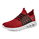 זול נעלי ספורט לגברים-בגדי ריקוד גברים נעלי נוחות רשת קיץ ספורטיבי / יום יומי נעלי אתלטיקה ריצה / רכיבת אופניים נושם אדום / ירוק / שחור אדום