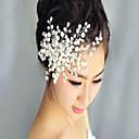 povoljno Party pokrivala za glavu-Kuglice Kose za kosu s Biser / Cvijet 1 komad Vjenčanje / Zabava / večer Glava