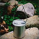 رخيصةأون المصابيح اليدوية وفوانيس الإضاءة للتخييم-حاملات شبك يسهل حملها الفولاذ المقاوم للصدأ / الحديد الصيد وصيد الأسماك Camping / Hiking / Caving تنزه تيتانيوم 1 pcs