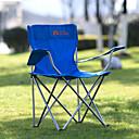 billiga Campingmöbler-MOBI GARDEN Hopfällbar campingstol Deformation Vikbar Inkluderar stativ Oxfordtyg för 1 person Fiske Strand Camping Höst Vår Blå