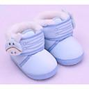 זול מגפיים לילדים-בנות נוחות / צעדים ראשונים כותנה מגפיים פעוט (9m-4ys) בז' / כחול / ורוד חורף / מגפונים\מגף קרסול
