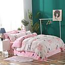 halpa Contemporary pussilakanoiksi-Pussilakanasetti setit Yhtenäinen / Kukka Polyesteria Printed 4 osainenBedding Sets