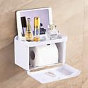 halpa Kompressiovaatteet-Wc-paperiteline Itsekiinnittyvä / Luova / Monikäyttö Moderni Muovit 1kpl - Kylpyhuone Seinäasennus