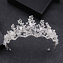 cheap Swatches-Alloy Tiaras with Rhinestone 1 Piece Wedding / Party / Evening Headpiece