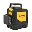 baratos Instrumentos de Medição de Nível-Níveis de laser sndway verde 360 3d auto nivelamento lasers horizontais verticais rotativos 8 linhas de lasers nivelador sw-332r