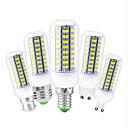 povoljno LED klipaste žarulje-1pc 12 W LED klipaste žarulje 450 lm E14 G9 GU10 T 72 LED zrnca SMD 5730 Ukrasno Divan Toplo bijelo Hladno bijelo 220 V