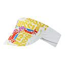 זול MP3 player-Mountainpeak רכיבה על אופניים / כובע מצחת קל משקל קרם הגנה רכיבה על אופניים ייבוש מהיר אופנייים / רכיבת אופניים צהוב אדום כחול / לבן ל יוניסקס מבוגרים אופני כביש רכיבה על אופניים / אופנייים רכיבת פנאי