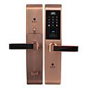 halpa Kulunvalvonta- ja läsnäolojärjestelmät-holishi® d3668f älykäs lukitus yhdistelmä lukko sormenjälkilukko älykäs kodin turvajärjestelmä sopii vasemman oven oikeaan oveen