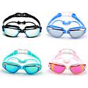 זול Swim Goggles-משקפי שחייה עמיד למים נגד ערפל חוץ לקוצר ראייה שחייה מרשם סיליקוןריצה גומי PC ורוד אפור שחור