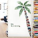 halpa Seinätarrat-trooppinen kasvi kookos puu seinä tarra olohuone makuuhuone tapetti itseliimautuva sohva tausta koriste juliste paperi tarroja