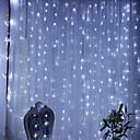 halpa LED-hehkulamput-1 sarja johti merkkijono kevyt lyhty 3x3 verho valo vesiputous kevyt vesi valoisa sali sisustus kevyt yövalo