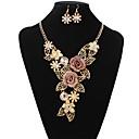 povoljno Naušnice-Žene Nakit Set Cvijet Boho, Ogroman uključiti Svadbeni nakit Setovi Zlato Za Vjenčanje Party