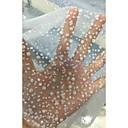 preiswerte Wedding Dress Fabric-Tüll Geometrisch Stretch 140-150 cm Breite Stoff für Brautkleidung verkauft bis zum 0,45 m