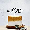 povoljno Figure za tortu-Figure za torte Klasični Tema / Kreativan / Vjenčanje Personalized / Romantični Opeka Vjenčanje / Party s Jedna boja 1 pcs OPP