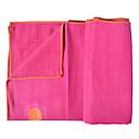 cheap Yoga Mats, Blocks & Mat Bags-Yoga Mat Ultra Slim, Elastic, Sticky, Collapsible, Sweat-wicking Superfine fiber For Amethyst, Dark Pink, black green