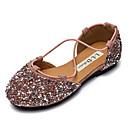 preiswerte Haar Accessoires-Mädchen Schuhe Kunststoff Frühling Komfort Flache Schuhe für Kleinkind (9m-4ys) Schwarz / Silber / Rosa