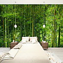 cheap Wall Tapestries-Bamboo Forest Suitable for TV Background Wall Wallpaper Murals Living Room Cafe Restaurant Bedroom Office XXXL(448*280cm)