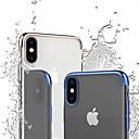 voordelige Slaapzakken & Kampeerbeddengoed-CISIC hoesje Voor Apple iPhone XS / iPhone XS Max Schokbestendig / Beplating / Transparant Achterkant Effen / Transparant Zacht TPU voor iPhone XS / iPhone XR / iPhone XS Max